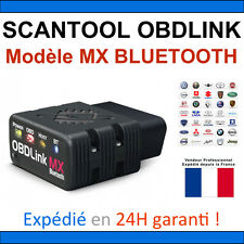 Valise diagnostique auto Pro Multimarque Obd2 Diagnostic OBDLINK MX BLUETOOTH