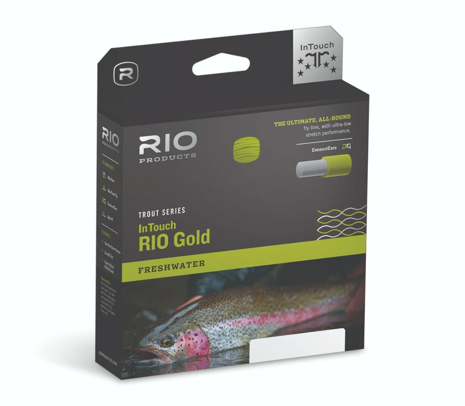 Rio Intouch RIO or WF Mouche Ligne De Pêche (Choisissez options)