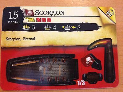 Pirates Rise of the Fiends #011 Scorpion Pocketmodel CSG NrMint-Mint