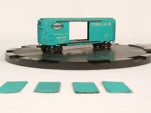 HO-Scale-Varney-Box-Car-P-amp-LE-22096-Pittsburgh-amp-Lake-Erie-NYC