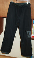 Dc Shoes Banshee K 13 Snowboarding Pants Youth Medium Black