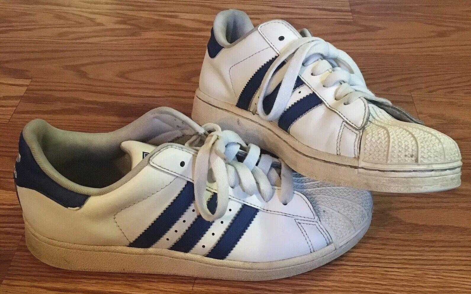 info for new release best authentic Weiß 5.5 Größe Herren Zehen Gehäuse Superstar Adidas Blau ...