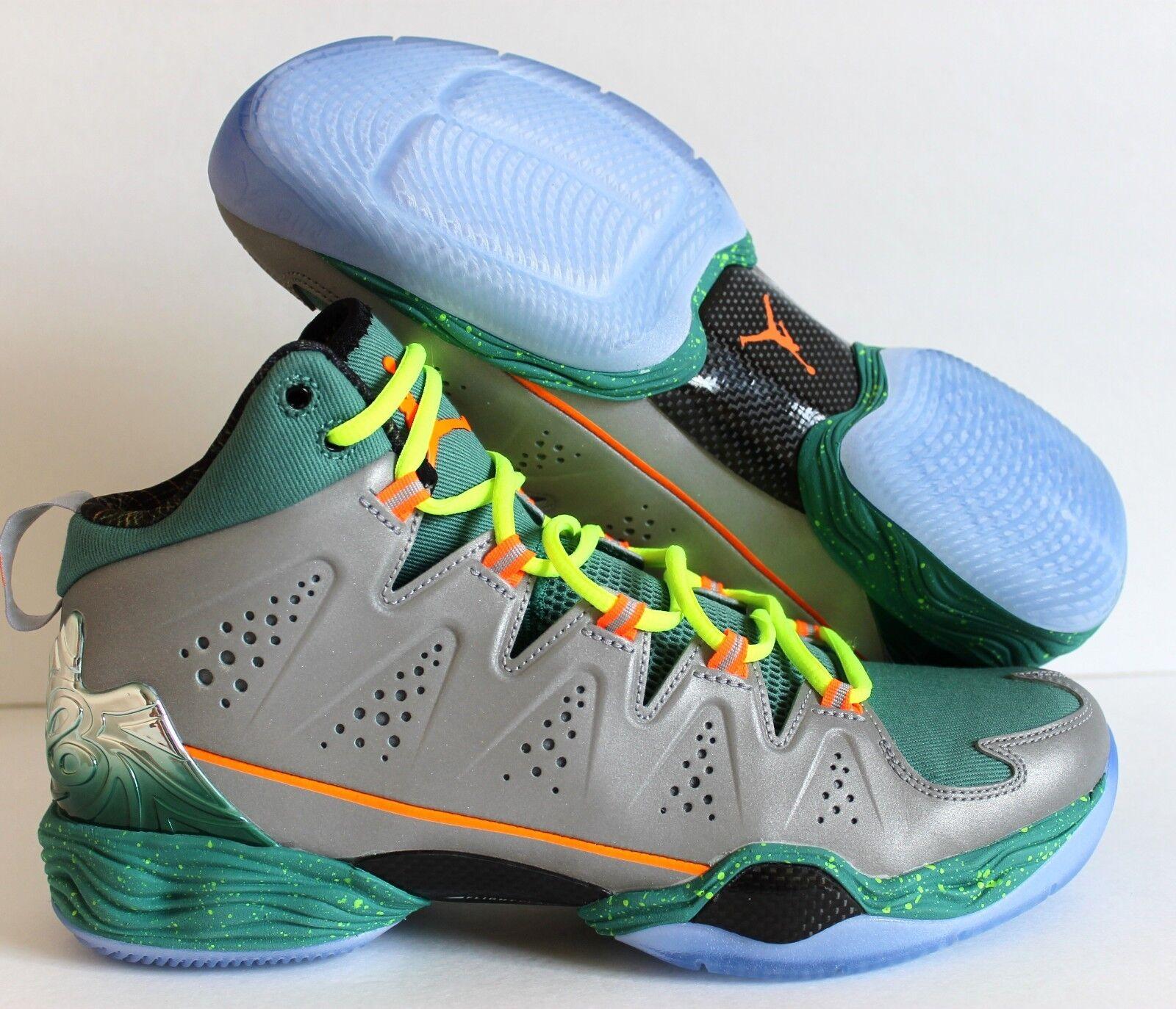 check out c6d92 87aed ... sale nike jordan melo m10 navidad plata naranja volt reducción para de  precios nuevos zapatos para