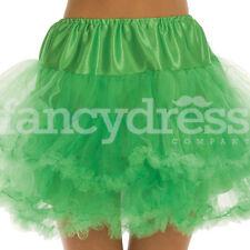 Green Underskirt Moulin Rouge Ruffle Tutu Bustle Burlesque Hen Night Party