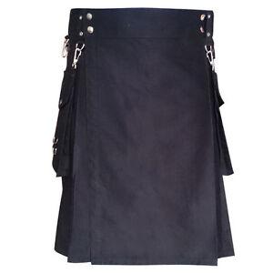 New Highland Scottish Wear Unisex Detachable Pocket Party Kilt