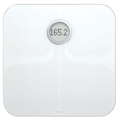 GENUINE Fitbit Aria Wireless WiFi Smart Scale White App Bathroom Weight Body BMI