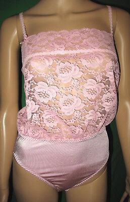 Freundlich Exquisite Feminine Spitze Vintage-nylon-body/einteiler/teddy-body Gr.40 *neu(732 Im Sommer KüHl Und Im Winter Warm