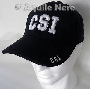 Caricamento dell immagine in corso Cappello-da-Baseball-CSI-berretto -Polizia-Scientifica-USA- 4a248d9bbc0f