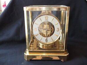 Estate Find VINTAGE ATMOS Jaeger-LeCoultre CLOCK SWISS MADE Serial # 170711