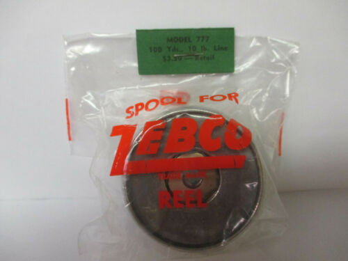 NEW ZEBCO SPINNING REEL PART 10lb line 100 Yards #A Model 777 Spool