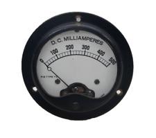 Vintage Direct Current Milliamperes Panel Meter Np1924 Gauge 0 500 R S Type Td