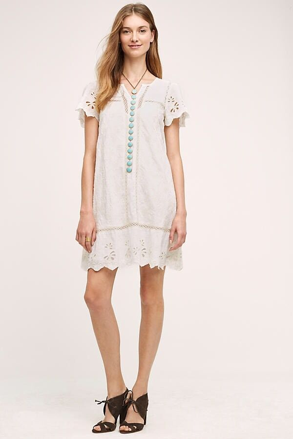 Brook Swing Dress By Holding Horses Embroiderot Größe 4 NWT Favorite