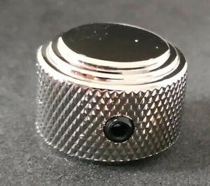 1 Bouton Duesenberg art deco nickel, 22mmØ x 16.5mm