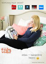 HAPPYtab iPad cushion tablet pillow beanbag stand accessory thing - Amalfi Grey