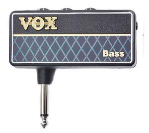 vox ap2 bs amplug2 bass new headphone guitar amplifier 4959112125087 ebay. Black Bedroom Furniture Sets. Home Design Ideas