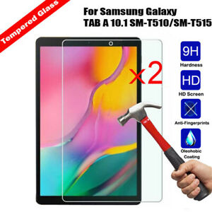2Pcs-Tempered-Glass-Samsung-Galaxy-TAB-A-10-1-SM-T510-T515-2019-Screen-Protector