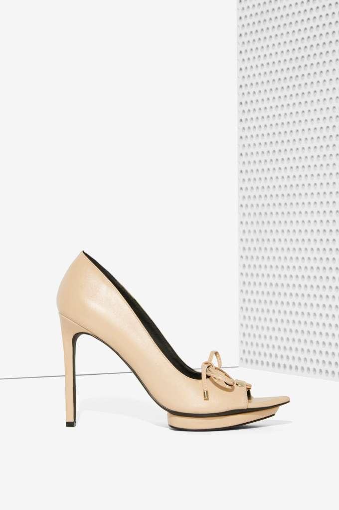 con il 100% di qualità e il 100% di servizio NEW NASTY GAL NUDE TO TIE FOR LACE UP UP UP HEELS scarpe SZ 6.5  outlet in vendita