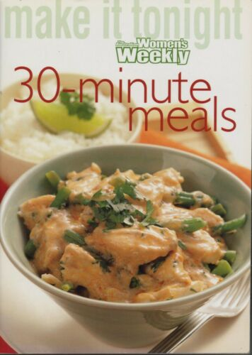 Women's Weekly 30MINUTE MEALS Mini Cookbook SC LIKE NEW CONDITION