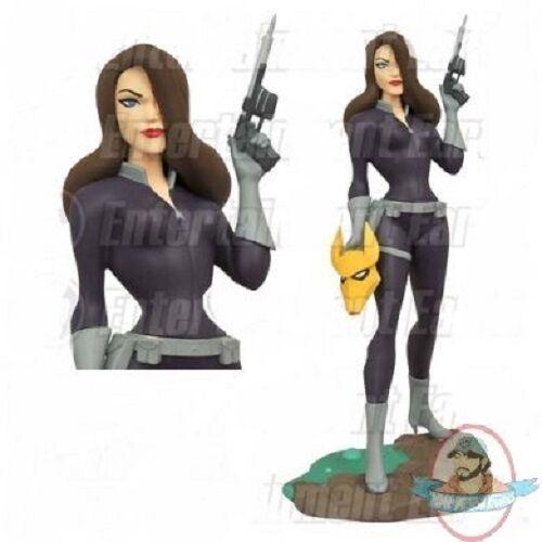Batman  der animierten serie taiia al ghul femme fatales statue diamanten