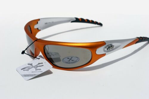 Men Orange Silver Mirror Xloop X-loop Sunglasses SURF Sport cycling