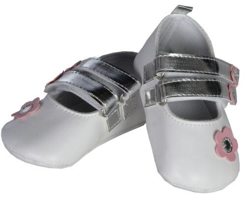 Babyschuhe Ballerinas festlich weiß Taufe Geschenkbox Little Treasures  Gr 18