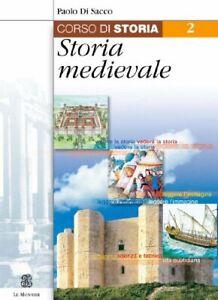 corso di storia 2 storia medioevale di sacco 9788800452274