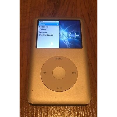 Apple iPod Classic 160GB in Silver - 7th Generation iPod