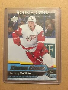 2016-17-Upper-Deck-Hockey-Series-1-Young-Guns-Anthony-Mantha-21-Rookie-Card