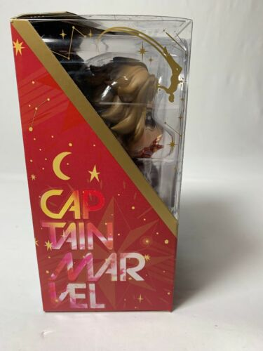 Flying version Marvel/'s Captain Marvel Cosbaby Bobble-Head Figure Neuf dans sa boîte//Scellé!