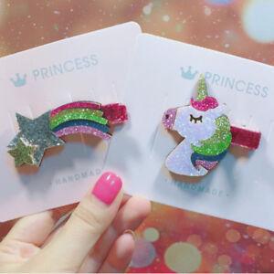 l-039-epingle-bowknot-mini-barrette-star-arc-en-ciel-bebe-ruban-licorne