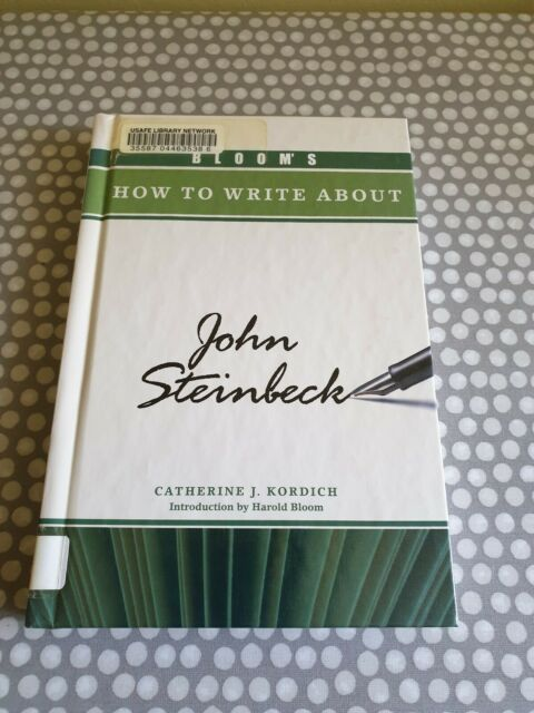 Bloom's How to Write About John Steinbeck by Catherine J. Kordich (Hardback, 20…