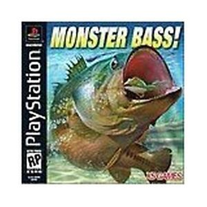 Monster Bass NEW factory sealed Sony Playstation 1 PSX PS1