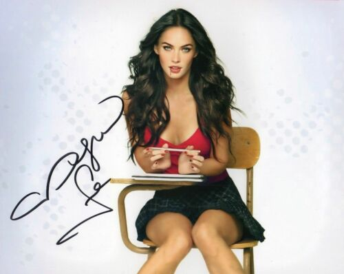 MEGAN FOX AUTOGRAPHED SIGNED A4 PP POSTER PHOTO PRINT 57