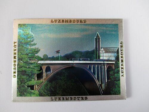Luxembourg LUXEMBOURG premium souvenir magnétique Laser Optique