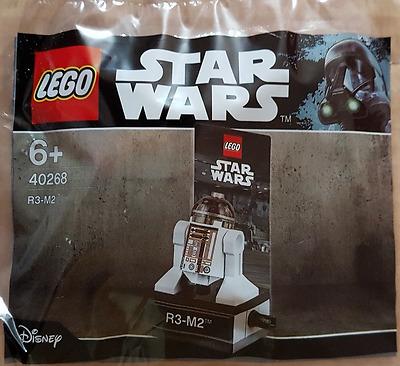 Minifigure Polybag Sealed Lego 40268 LEGO STAR WARS R3-M2 Astromech Droid