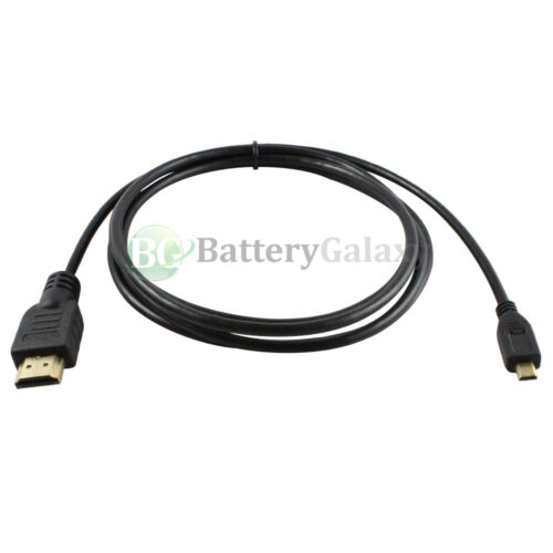 6FT HDMI to Micro HDMI Premium Cable for Tablet Amazon Kindle Fire HD 700+SOLD