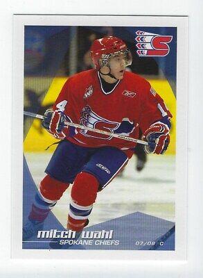 2008-09 Spokane Chiefs Mitch Wahl player magnet WHL Eispiraten Crimmitschau