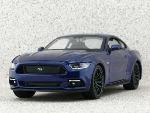 bluemetallic Maisto 1:24 2015 FORD Mustang GT
