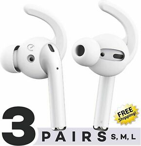 Earbuddyz Ultra Ear Hooks And Covers Compatible With Apple Airpods 1 Airpods 2 Ebay