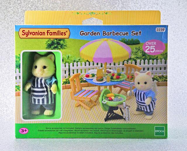Sylvanian Families Calico Critters Garden Barbecue Set