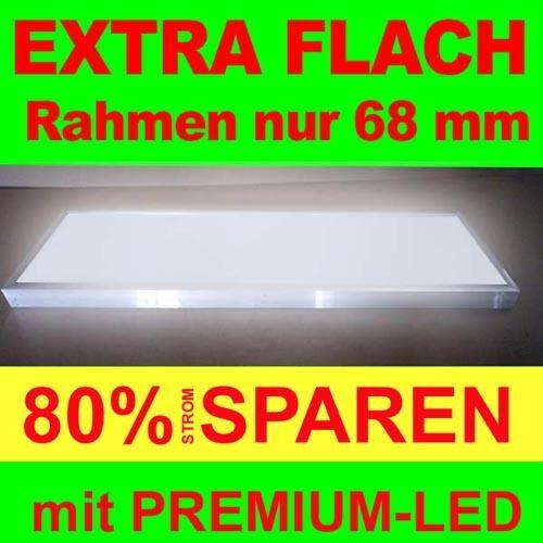 Premium Flat LED Lightbox 1000-400mm Depth 68mm Illuminated Sign Advertising