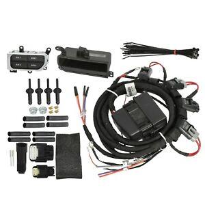 Mopar 82215798AB Jeep Wrangler Chrome Auxiliary Switch Bank Kit