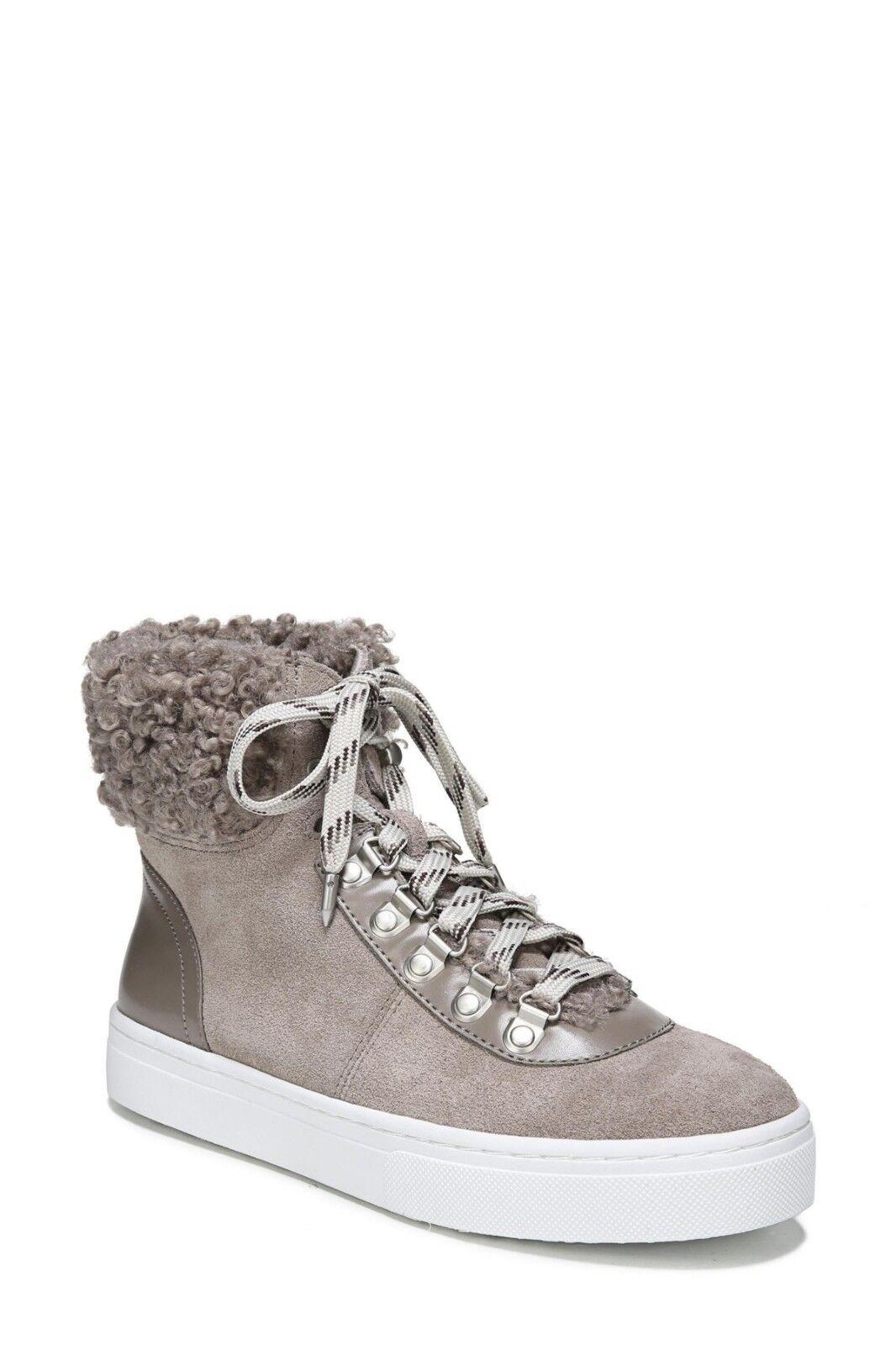 vendite dirette della fabbrica New  Sam Edelman Edelman Edelman Luther Faux Shearling High Top scarpe da ginnastica Donna  scarpe stivali  Miglior prezzo