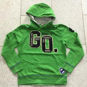 EDC BY ESPRIT Kapuzen Sweatshirt Pullover Pulli Hoodie grün