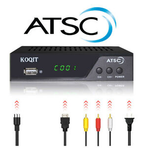 Clear-Qam-Atsc-Digital-Converter-Box-Analog-FTA-Cable-Receiver-Tuner-TV-Recorder