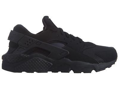 Nike Air Huarache Mens 318429-003 Black Textile Athletic Running Shoes Size  8 | eBay