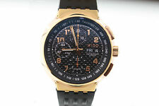 NWT Men's Mido All Dial M83603D892 Rose Gold Chronometer Day/Date Rubber Watch