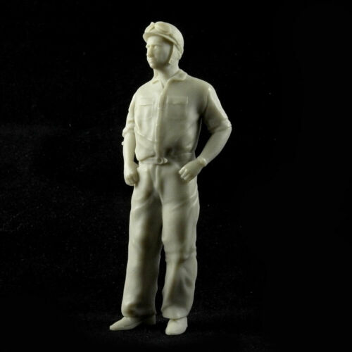Juan Manuel Fangio 1:18 unbemalt//unpainted Figurenmanufaktur