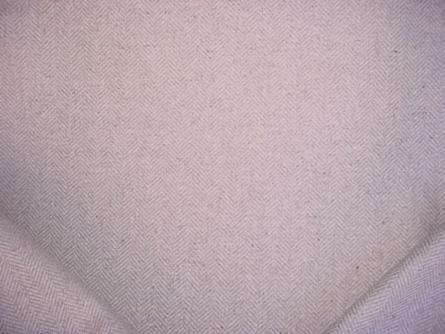 9-1/2Y Ralph Lauren LCF67107F Stoneleigh Herringbone Wool Upholstery Fabric