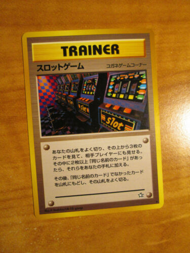 NM Pokemon BANNED Japanese ARCADE GAME Card NEO GENESIS Set Gold Silver World